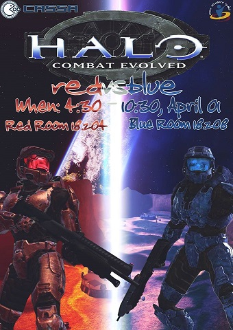 CASSA Red vs Blue – Halo CE LAN